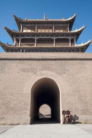 jiayuguan: Jiayuguan Castle,Gansu of China