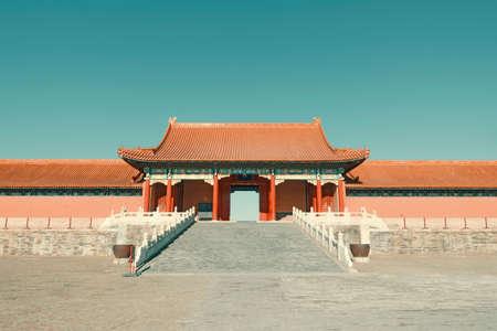 Forbidden City: Gate tower of Forbidden City