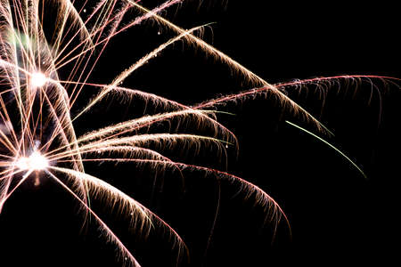 The details of Fireworks Stock Photo