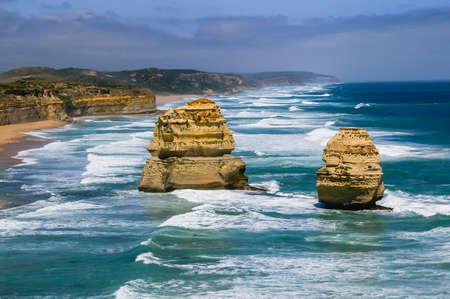 Twelve Apostles along Great Ocean Road, Australia