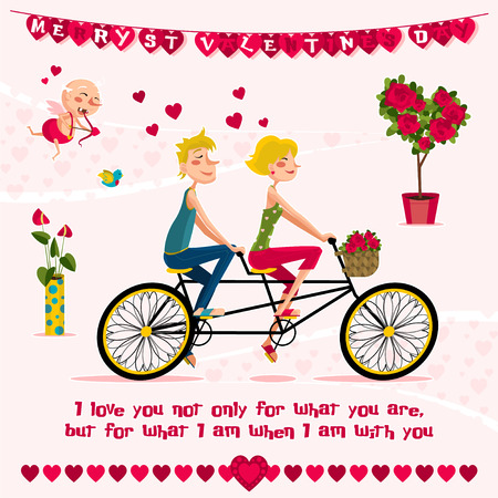 the day: love day Illustration