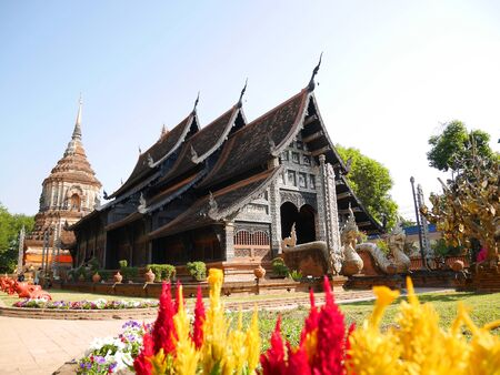 CHIANG MAI, THAILAND - January 30, 2017: Wat Lok Molee Editorial
