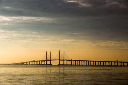 View of a bridge Stock Photo