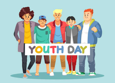 Youth Day with different races