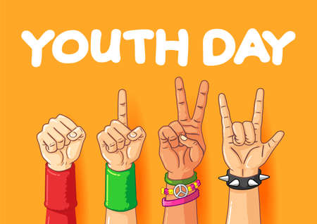 Youth Day with different finger style.
