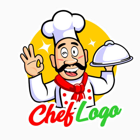 Chef with mustache