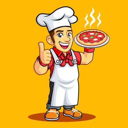 Pizza Chef Thumb finger Hot Pizza Pan