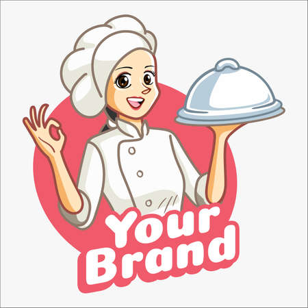 Woman Chef OK Finger