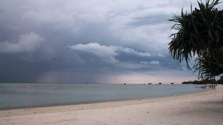 pulau: Pasir Perawan Beach at Pulau Pari