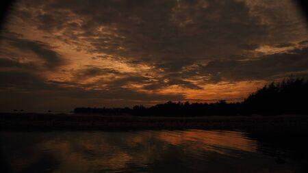 pulau: Sunset at Pulau Pari