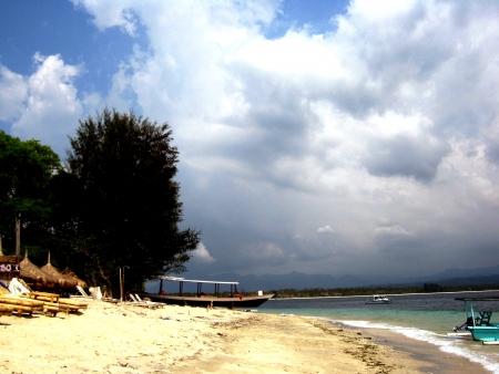 lombok: Gili Air, Lombok Stock Photo