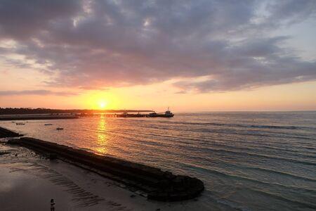 nusa: sunset