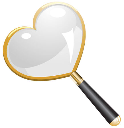 Love Search Magnifying Glass