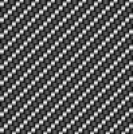Tileable Carbon Fiber  Pattern Illustration