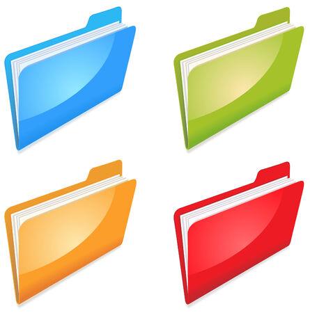 color office folders