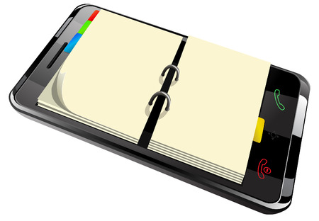 daily planner: daily planner in smart phone