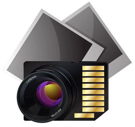 Memory card for photo