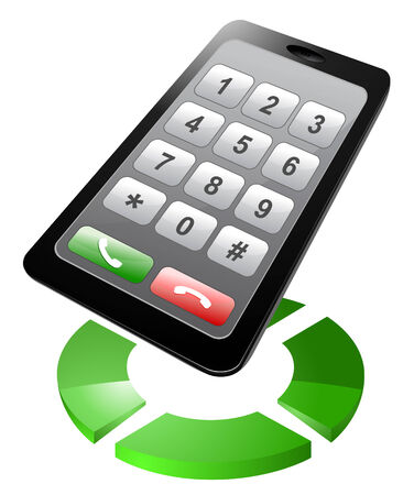 Contact icon. Telephone.