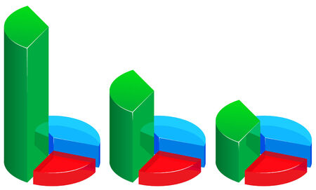 glass business graphs
