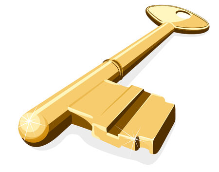 golden key: Golden key Illustration