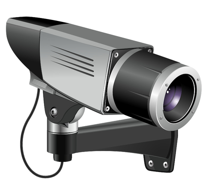 camera of the video observation Vector
