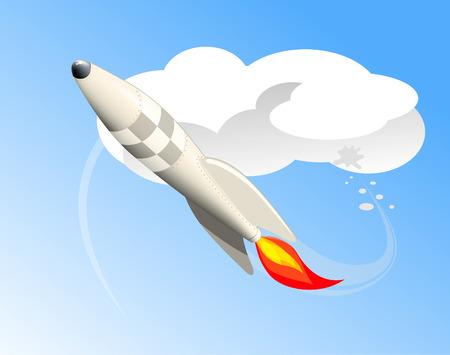 pirouette: Flying rocket