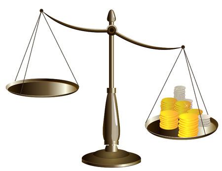 escalas con el dinero