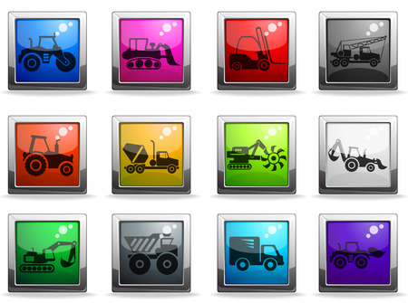 earth mover: Symbols of Construction Machines