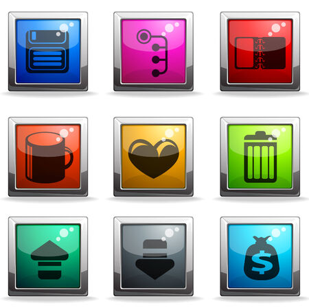 likes: web site icon set