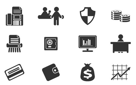 Finance Icons Stockfoto - 28489927