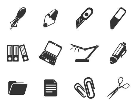 correttore: Icone di ufficio vettore