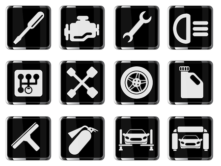 auto mechanic: Auto Service Icons