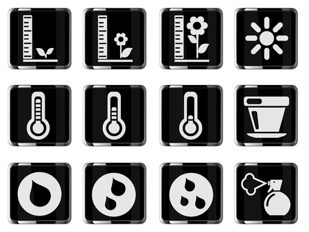 penumbra: Plant Growing Sign Icons