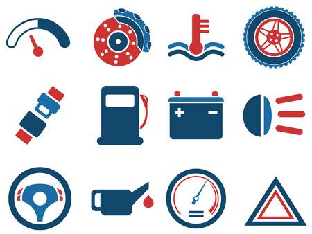 interface icon: Vector car interface icon set