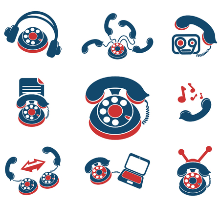 ring tones: Communication services icons