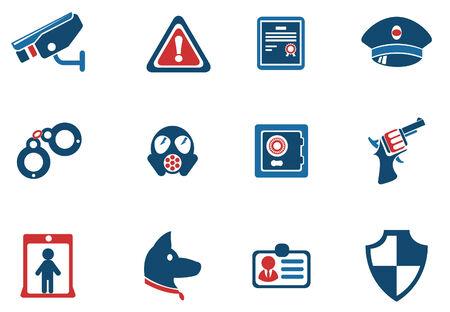 Security symbols Vector