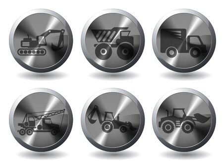 earth mover: Symbols of Transportation & Loading Machines
