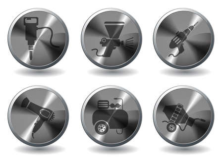 air compressor: Symbols of building equipment