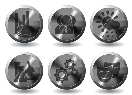 social gathering: Media vector icons