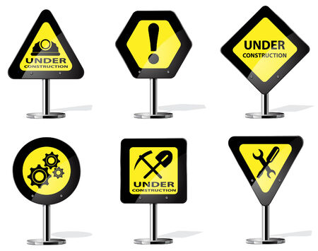 Yellow Signs Construcci�n
