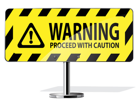 se�al de advertencia