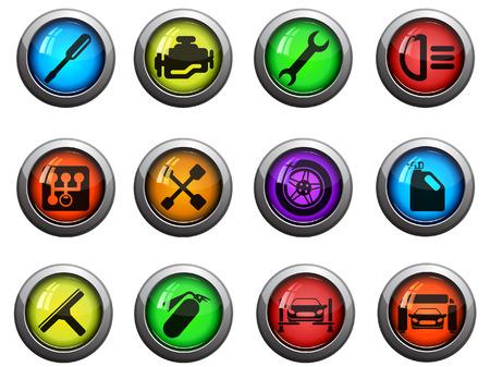 auto service: Auto Service Icons
