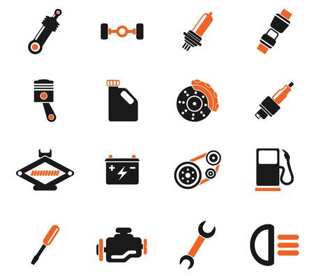 service car: Auto Service Icons