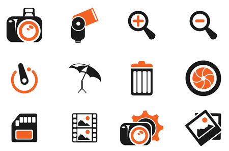 conformity: Photography Silhouette Icons