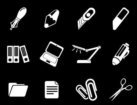 corrector: Office vector icons