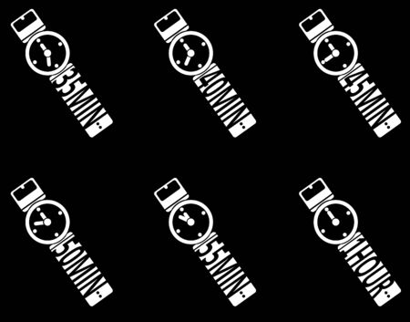 second hand: Timer icons