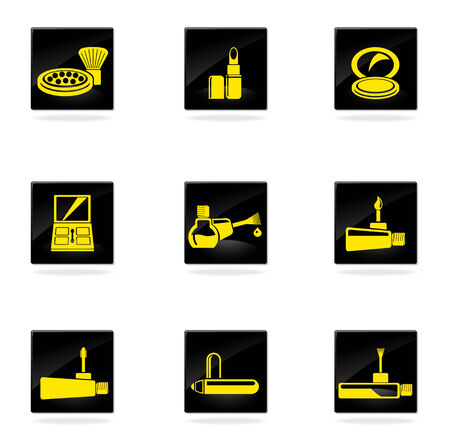 briliance: make-up products icons