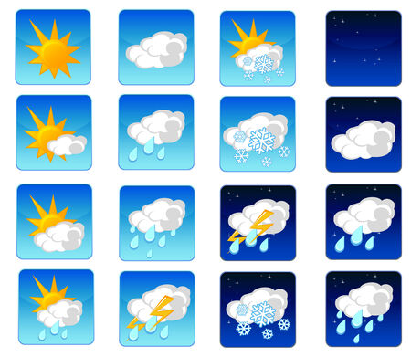 vested: weather icons