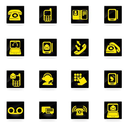 telephone icons: Telephone Icons