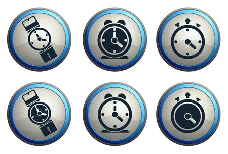 minute hand: clock icon